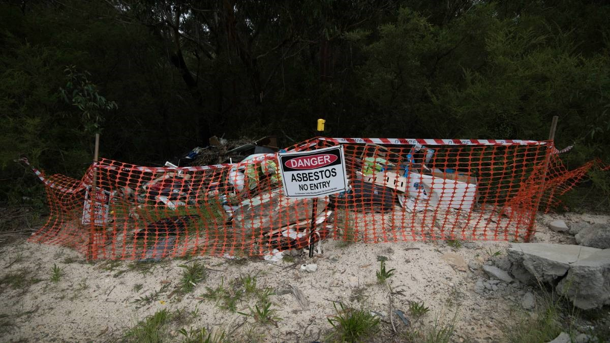 Asbestos Dumpers Beware